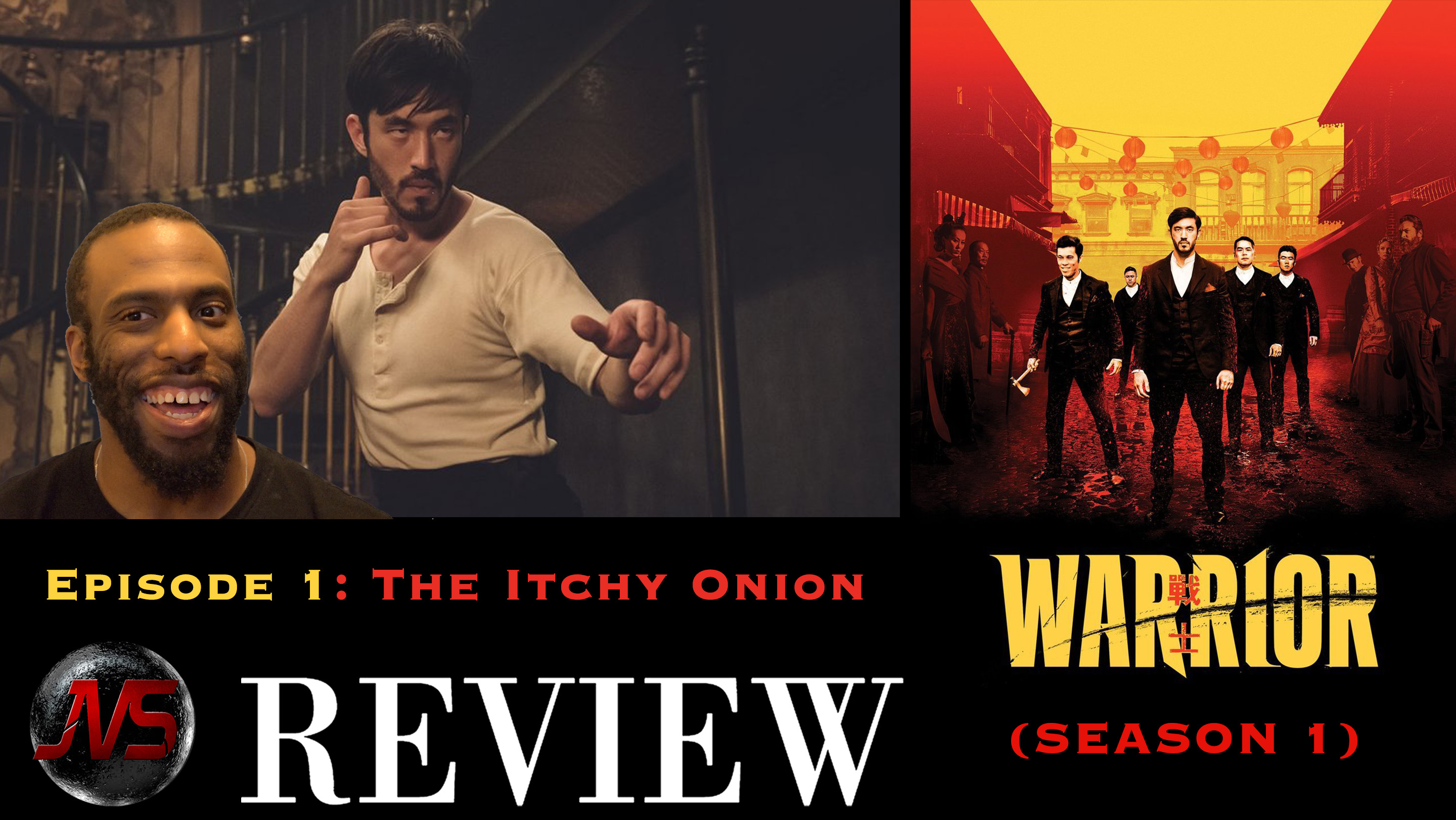 """WARRIOR (Cinemax) Episode 1 """"THE ITCHY ONION"""" 